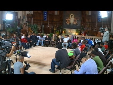 abc news - Part 1: In a city full of guns, ABC News hosted a summit for rival gangs and victims to speak out.