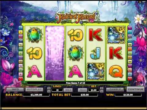 Fairies Forest Slots Big Wins