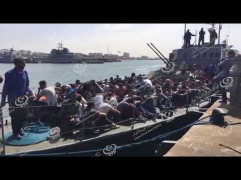 إنقاذ 237 مهاجر غير قانوني شمال صبراته