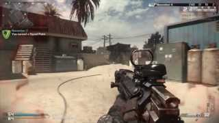Call Of Duty: Ghosts (Crancked En Octane) MTAR Gameplay - COD GHOSTS XBOX ONE Gameplay