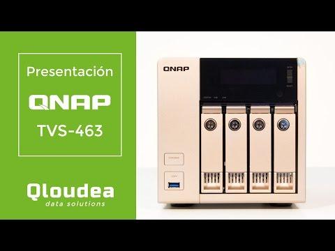 TVS-663 NAS para 6 discos - AMD 2.4GHz quad-core, 4GB DDR3L