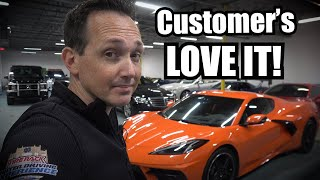 Why The 2020 C8 Corvette Is A Better Rental Than the Supra by Super Speeders