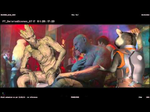 Drunk Drax – Deleted Scene – Marvel's Guardians of the Galaxy