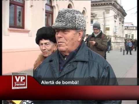 Alertă de bombă!