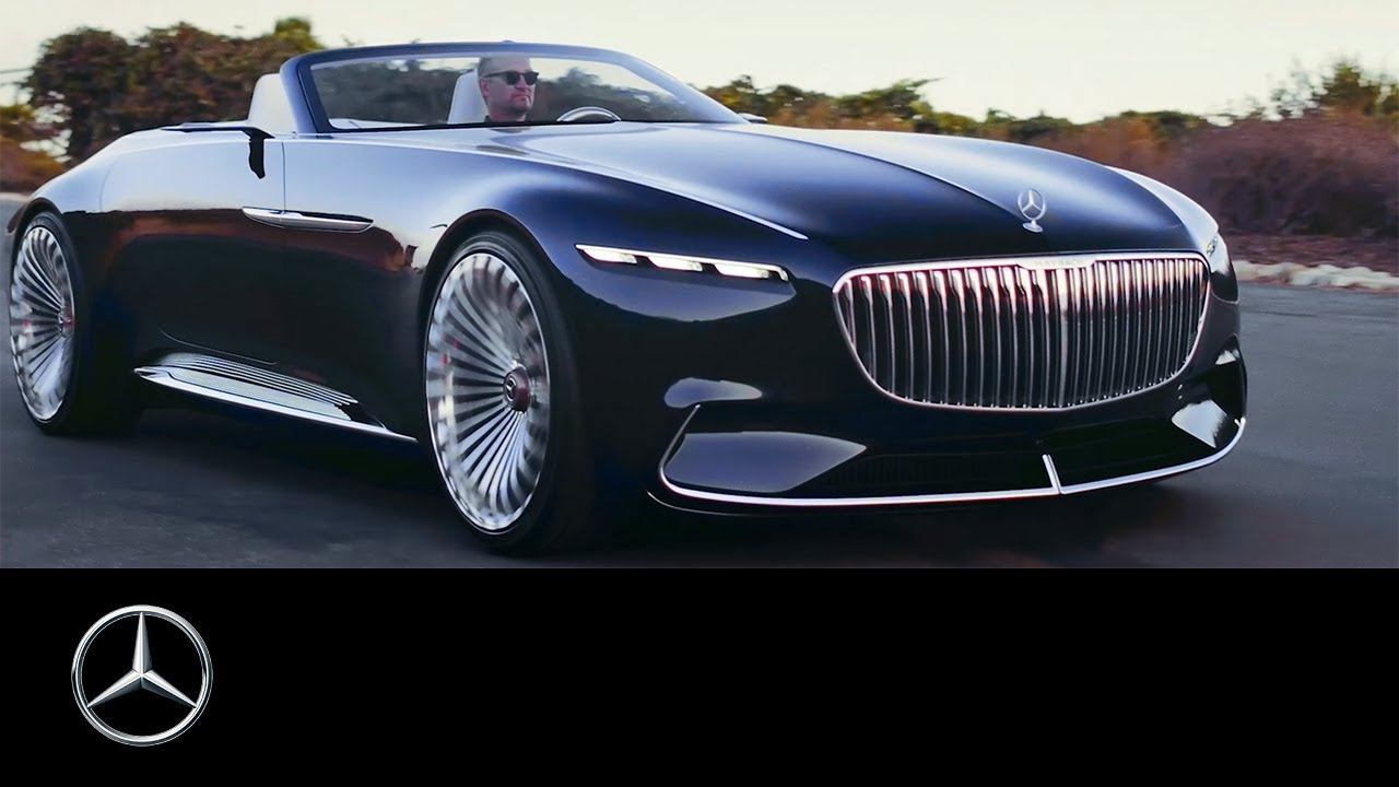extraordinary mercedes maybach vision 6 cabriolet stuns at pebble beach w video. Black Bedroom Furniture Sets. Home Design Ideas