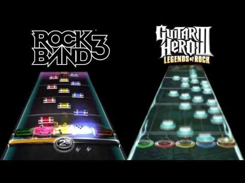 Guitar Hero 3 Vs. Rock Band 3 – Through The Fire And Flames – Guitar – Expert