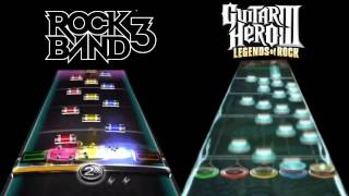 Video Guitar Hero 3 Vs. Rock Band 3 - Through The Fire And Flames - Guitar - Expert MP3, 3GP, MP4, WEBM, AVI, FLV Maret 2018