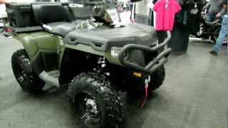 9. 2012 Polaris SportsMan 500 at 2012 Montreal Motorcycle Show - Salon de la Moto de Montreal