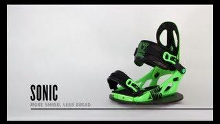 K2 Sonic Snowboard Bindings 2014