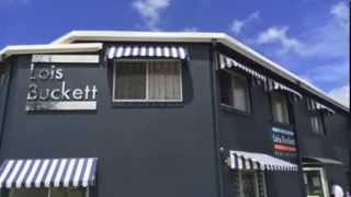 Fixed No Frame Fabric Awning Lennox Head