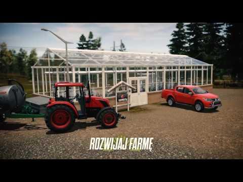 Uprawy, hodowla i szklarnie na czterech kontynentach, czyli zwiastun gry Symulator Farmy 17: Pure Farming