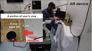 An Intuitive Augmented Reality Interface for Human Robot Collaboration