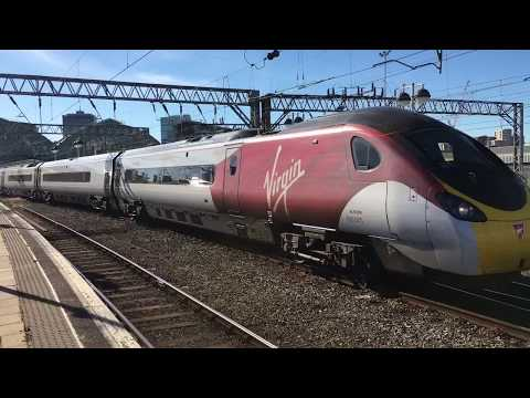 Virgin Trains Pendolino 390005 From Manchester Piccadilly To London Euston