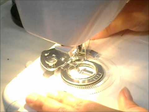 accesorios de maquina de coser para ojillos o floresitas
