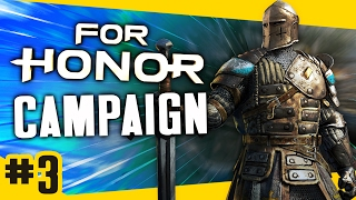 Gameplay For Honor Campaign - Knight FINALE #3