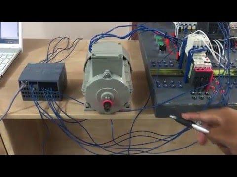 Control de un motor con pantalla HMI