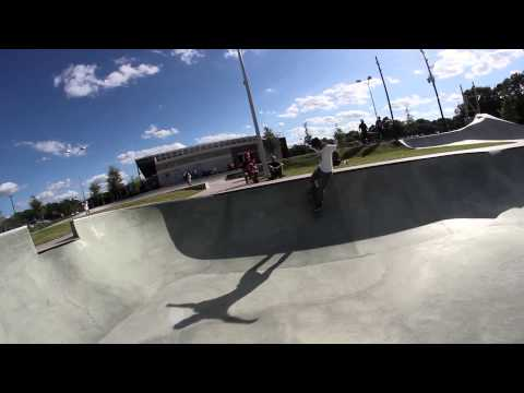 Jared Henry at Spring Park: Houston SD Trip (America's largest public skatepark)