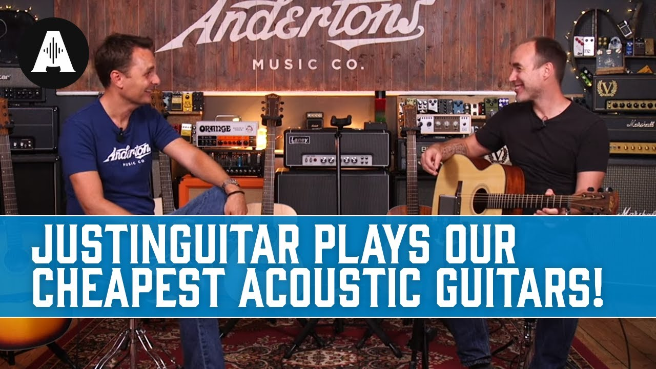Will JustinGuitar.com Like the Cheapest Acoustic Guitar We Sell?