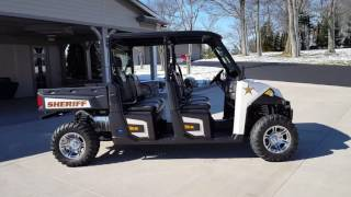 10. 2017 Polaris 6 Person Sheriff UTV  |  John Jones Police Pursuit Vehicles