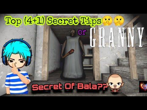 Top (4+1) Secrets In Granny's House। Bala's Secrets Revealed!! Little Gamer James।
