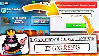 "En este Vídeo os traigo un tutorial de cómo poner un NOMBRE ESPECIAL (con caracteres raros) en Clash Royale!★ Cool Fonts http://itunes.apple.com/app/cool-fonts/id601831333?at=11l6V9&ct=g143● Cool Fonts Pro https://itunes.apple.com/us/app/cool-fonts-gold/id654846696?at=11l6V9&ct=g153► ¡Sígueme!• Suscríbete al Canal! https://goo.gl/alqmWP• Twitter! https://twitter.com/TheGrefgYT• Instagram! https://instagram.com/grefg_official/• Facebook! https://www.facebook.com/TheGrefg• Mail de contacto contactothegrefg@gmail.com• Mi canal de Twitch! http://www.twitch.tv/thegrefg► ¡Sponsors del Canal!• Cómo grabo MIS GAMEPLAYS! http://e.lga.to/grefg• Gafas Increíbles (25% dto con el Código ""TheGrefg"") http://www.aftersunglasses.com/thegrefg• Energía de Verdad! (10% Descuento w/Código ""THEGREFG"") https://goo.gl/Itwmme★ Gracias por la Mini Byre! https://goo.gl/heEJF1---Vídeo creado y subido por TheGrefg."