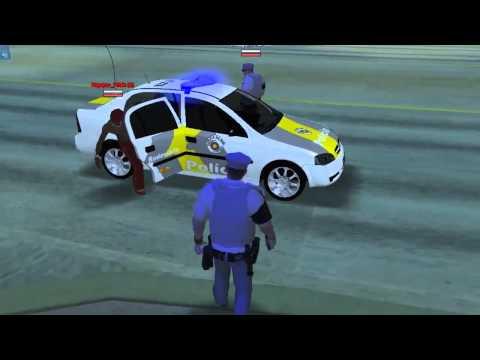 Polícia 24 horas - GTA Online #6 - Policiamento Rodoviário