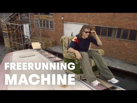 Free Running - Performing simple tasks in a complex manner is what the human-powered freerunning machine is all about. Check out the video and let us know what you think! W...