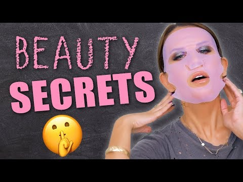 BEAUTY SECRETS REVEALED | My Best Hacks & Tips