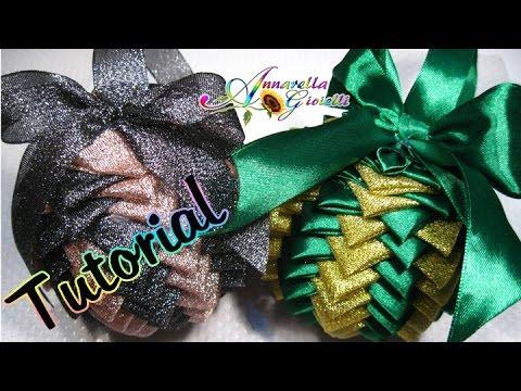 patchwork - palla pigna natalizia