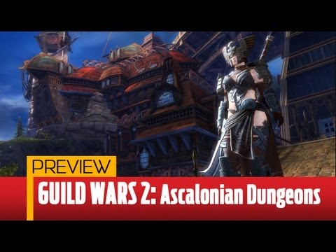 ‪Guild Wars 2 Dungeon Preview – Ascalonian Catacombs Gameplay‬