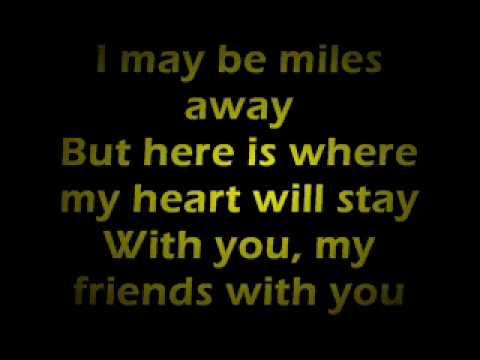 Farewell (To You My Friend) Lyrics