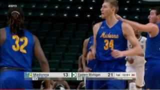 Play of the Game - Men's Basketball vs. EMU