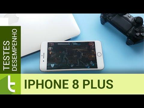 Desempenho do Apple iPhone 8 Plus  Teste de velocidade oficial do TudoCelular