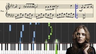 Tove Lo - Scars (Divergent: The Allegiant) - Piano Tutorial + Sheets