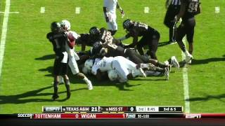 Sean Porter vs Mississippi State (2012)