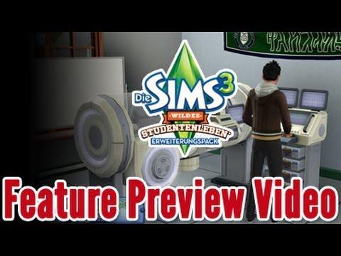 Die Sims 3 Studentenleben Trailer