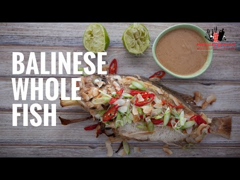 AYAM Balinese Whole Fish | Everyday Gourmet S6 EP39