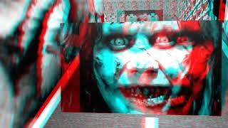 La biblioteca fantasma 3d Vídeo 3d para ver con gafas rojo azul
