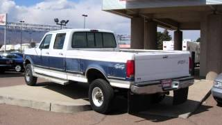 (CN1315) 1995 Ford F-150 Diesel Crew Cab XLT 4X4 For Sale!!