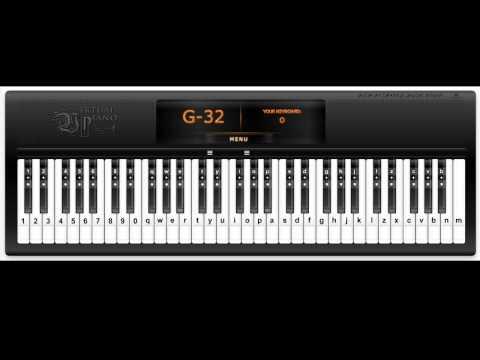 ASGORE - Virtual Piano