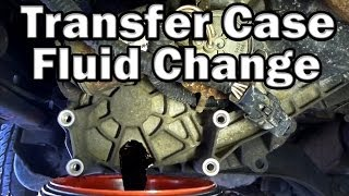 3. How to change Transfer Case Fluid (Easy)