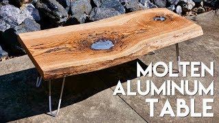 Molten Aluminum Live Edge