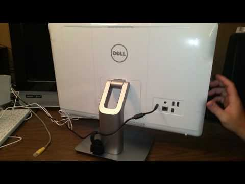 Dell i3265-A643WHT-PUS Inspiron 3265 All in One, 21.5