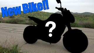 10. NEW BIKE REVEAL! (2014 Yamaha FZ-09)