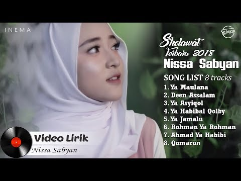 NISSA SABYAN Full Album (Video Lirik) - Lagu Sholawat Terbaru 2018
