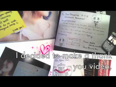 SNE - Sooyoung made and edited this video by herself for SONE. Since Sooyoung is not able to perform in Taiwan she left messages to SONE. She said she is fine and ...