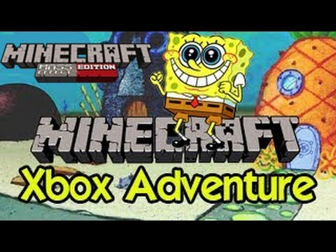 Minecraft (Xbox 360) - Spongebob Bikini Bottom - WITH TEXTURE PACK!