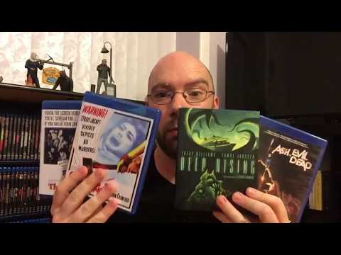 Blu Ray Collection Update & Deep Rising Unboxing