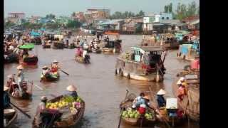 Cảnh đẹp Tiền Giang | Du Lịch Tiền Giang | Sông Nước Tiền Giang