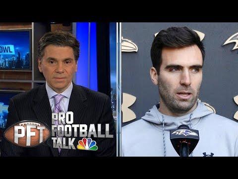 Video: Can Lamar Jackson carry Ravens with Joe Flacco as second? | Pro Football Talk | NBC Sports